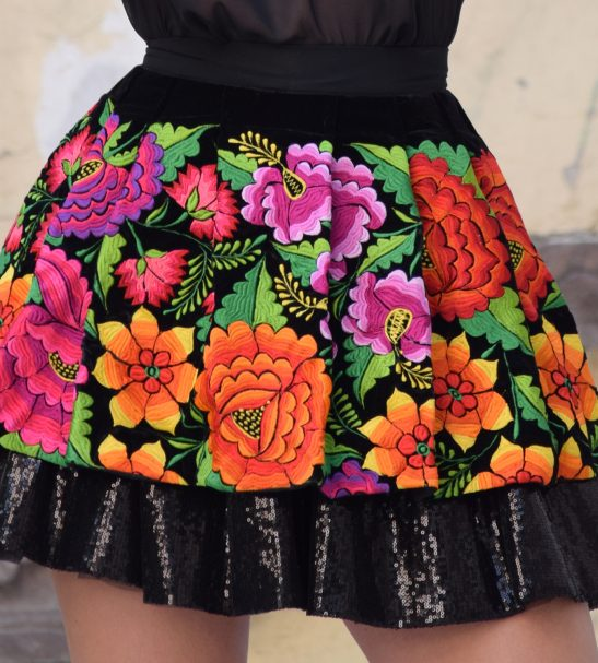 MINI SKIRT MEXICAN FASHION 2