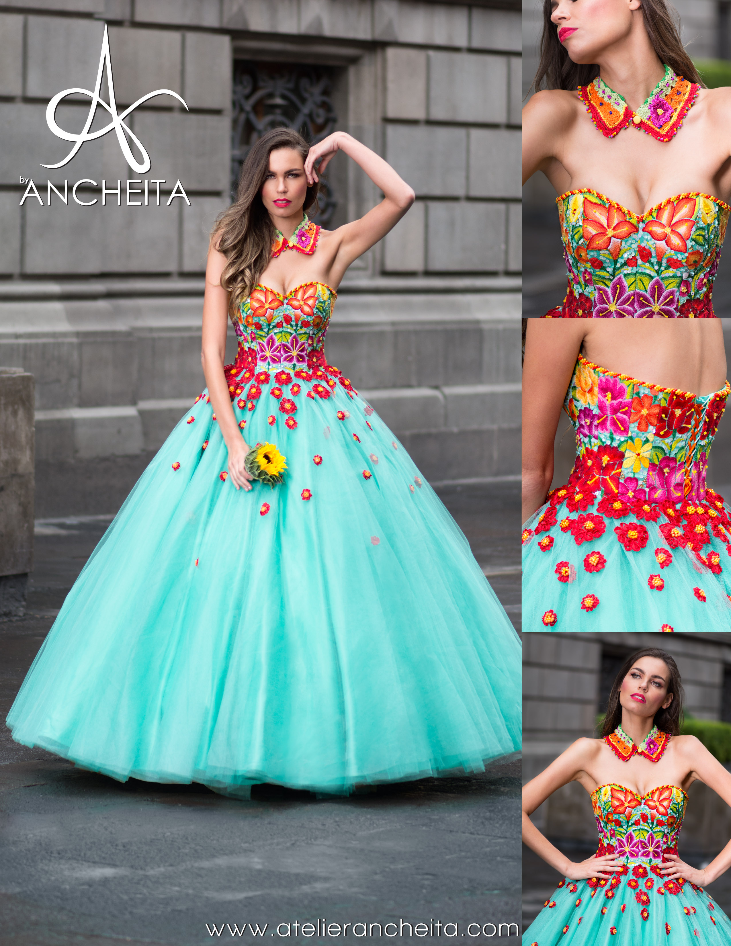 Xv Years Dress Cielito Lindo