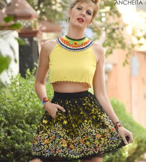 MEXICAN FASHION YELLOW 2017 2