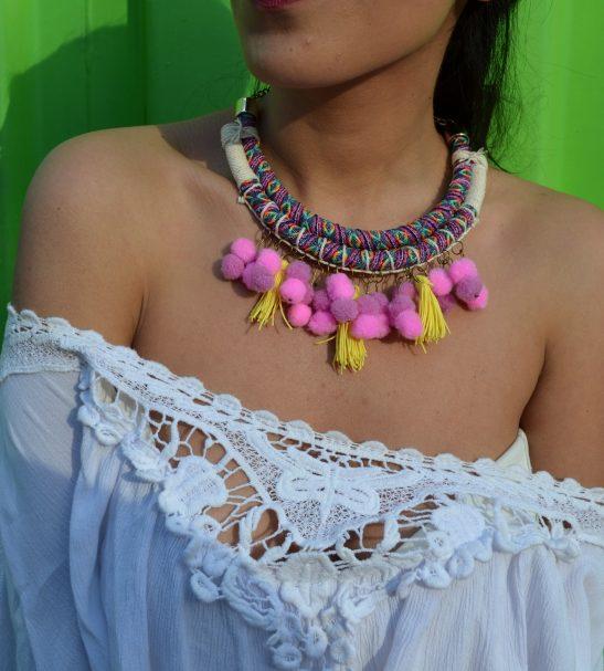 Collar folk-boho