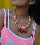 Collar Super red morenita mia