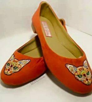 Calzado artesanal Flat Lince